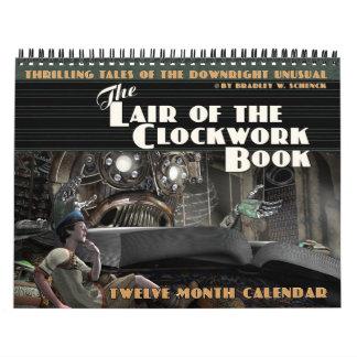 Das Lager des Uhrwerk-Buch-Kalenders Abreißkalender
