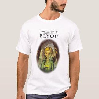 Das Land von Elyon | die dunkle Hügel-Verteilung T-Shirt