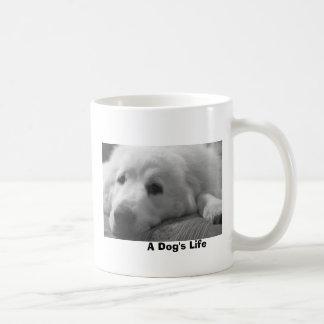 Das Leben eines Hundes Kaffeetasse