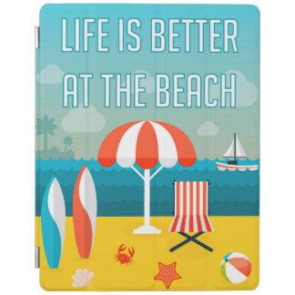 Das Leben ist am Strand besser iPad Smart Cover