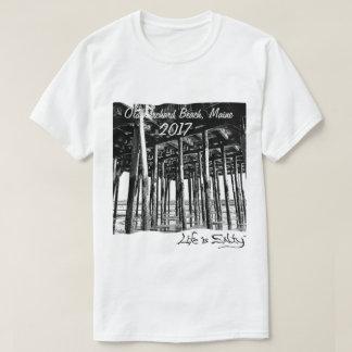 Das Leben ist am Strand und an uns Liebe es T-Shirt