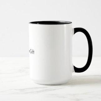Das Leben ist das Geschenk, Erinnerungs-Tasse Tasse