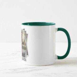 Das Leben ist ein Abenteuer - Wecker-Tasse Tasse