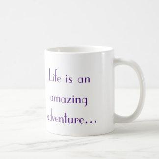 Das Leben ist ein fantastisches Abenteuer Tasse