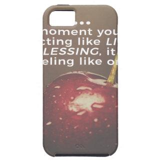 Das Leben ist ein Segen Etui Fürs iPhone 5