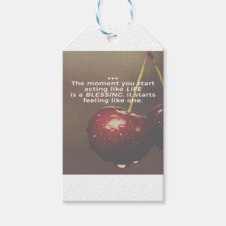 Das Leben ist ein Segen Geschenkanhänger
