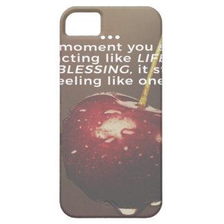 Das Leben ist ein Segen iPhone 5 Hüllen
