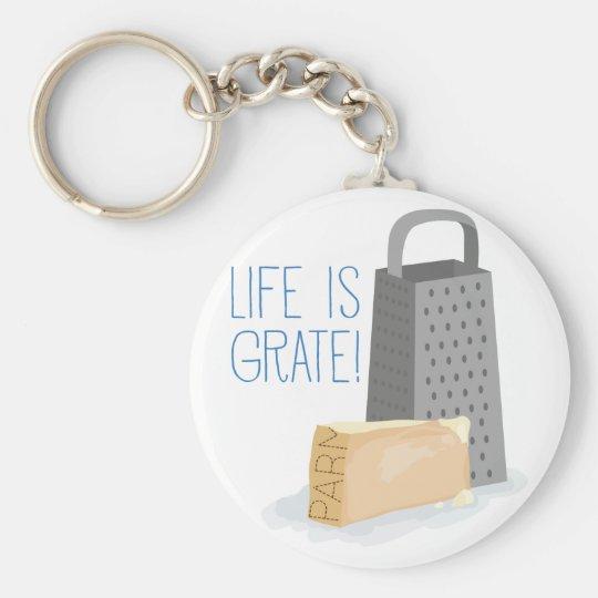 Das Leben ist Gitter Schlüsselanhänger