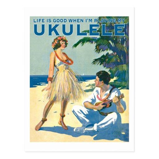 Das Leben ist gute Postkarte #2