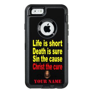 DAS LEBEN IST KURZ OtterBox iPhone 6/6S HÜLLE