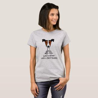 Das Leben ist mit einem Jack Russell besser T-Shirt