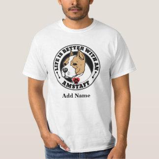 Das Leben ist mit einem Namen Staffordshires T-Shirt