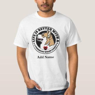 Das Leben ist mit einem personalisierten T-Shirt