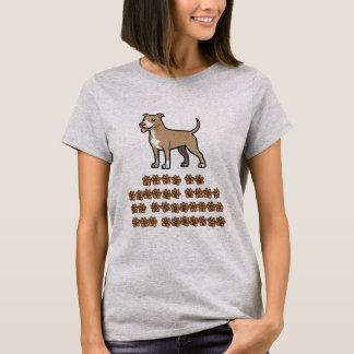 Das Leben ist mit einer Grube Terrier besser T-Shirt