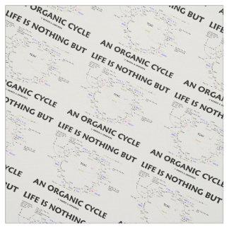 Das Leben ist nichts aber ein Bio Zyklus Krebs Stoff