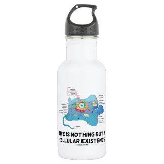 Das Leben ist nichts aber ein zellulärer Trinkflasche