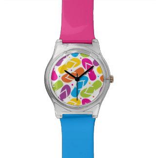 Das Leben ist umdrehen herein Reinfall-Muster Armbanduhr