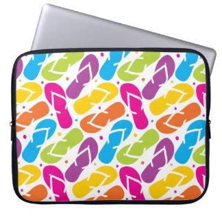 Das Leben ist umdrehen herein Reinfall-Muster Laptop Sleeve