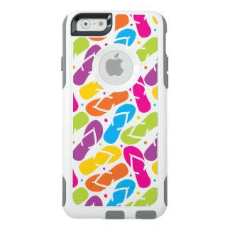 Das Leben ist umdrehen herein Reinfall-Muster OtterBox iPhone 6/6s Hülle