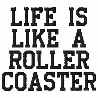 Das Leben ist wie ein Rollen-Untersetzer