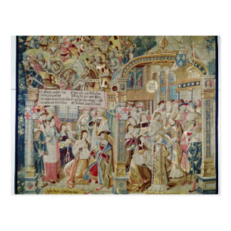Das Leben von Bischof St. Remigius von Reims Postkarte