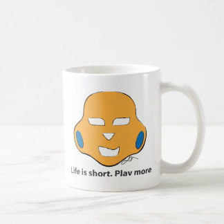 Das Leben zu kurzem, spielen mehr Tasse