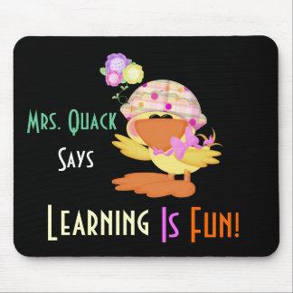 Das Lernen ist Spaß 1 Mausunterlage Mousepad