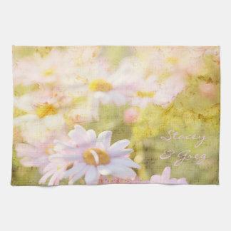 Das Lied des Frühlinges reizend erblassen - rosa Küchentuch