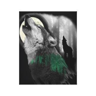 Das Lied des Wolfs Leinwanddruck