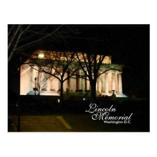 Das Lincoln Memorial, Washington DC Postkarte