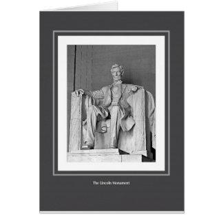 Das Lincoln-Monument Karte