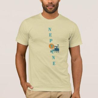 Das Logo/das Mittelt-stück Neptun-Männer T-Shirt