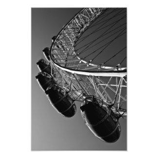 Das London-Auge Photo Druck