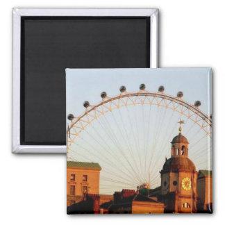 Das London-Auge Quadratischer Magnet