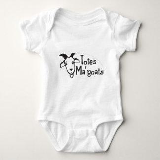 Das Ma der Tasche Ziegen Baby Strampler