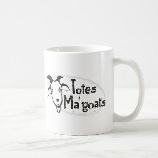 Das Ma der Tasche Ziegen Kaffeetasse