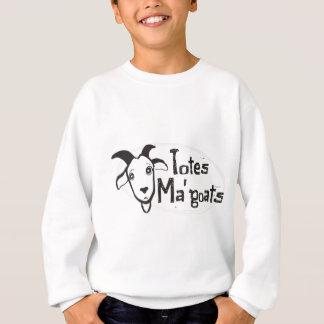 Das Ma der Tasche Ziegen Sweatshirt