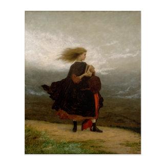 """""""Das Mädchen I verlassen hinter mir"""" von Eastman Acryldruck"""
