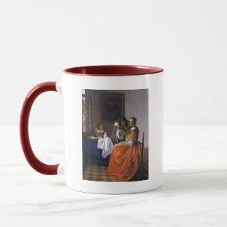Das Mädchen mit dem Weinglas Tasse