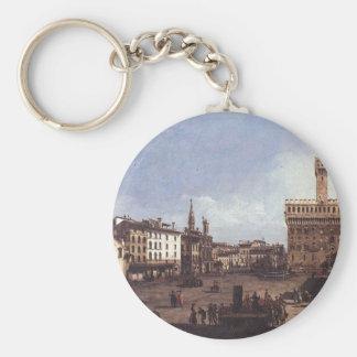 Das Marktplatz della Signoria in Florenz durch Schlüsselanhänger