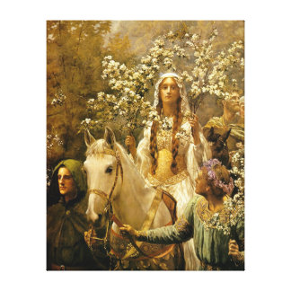 The Maying of Queen Guinevere by John Collier