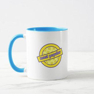 Das meiste populäre Abzeichen Tasse