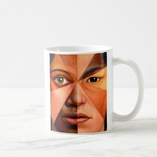Das menschliche Gesicht Tasse