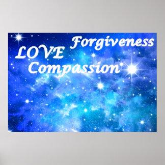 Das Mitleid-Liebe-Verzeihenuniversum Plakate