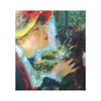 Das Mittagessen der Bootfahrt-Party Renoir feinen Leinwanddruck