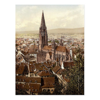 Das Munster, Freiburg, Baden, Deutschland Postkarte