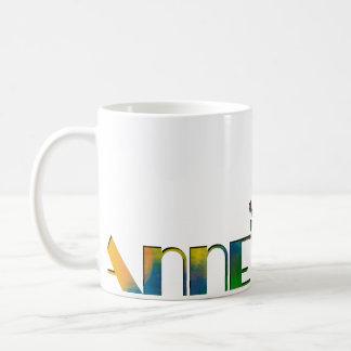 Das Namensspiel - Anne Kaffeetasse