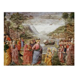 Das Nennen von SS. Peter und Andrew, 1481 Postkarte