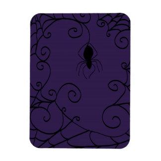 Das Netz-Foto-Magnet der Spinne Magnet
