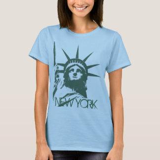 Das New- YorkTrägershirt-Freiheitsstatue der T-Shirt